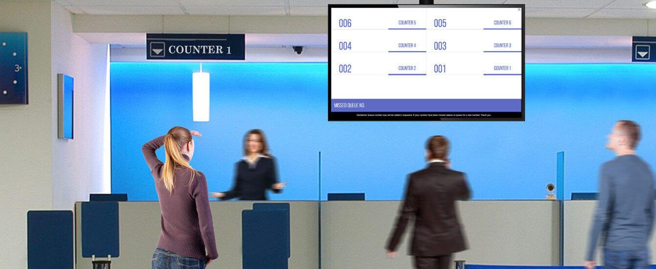 Ticketless Queue System